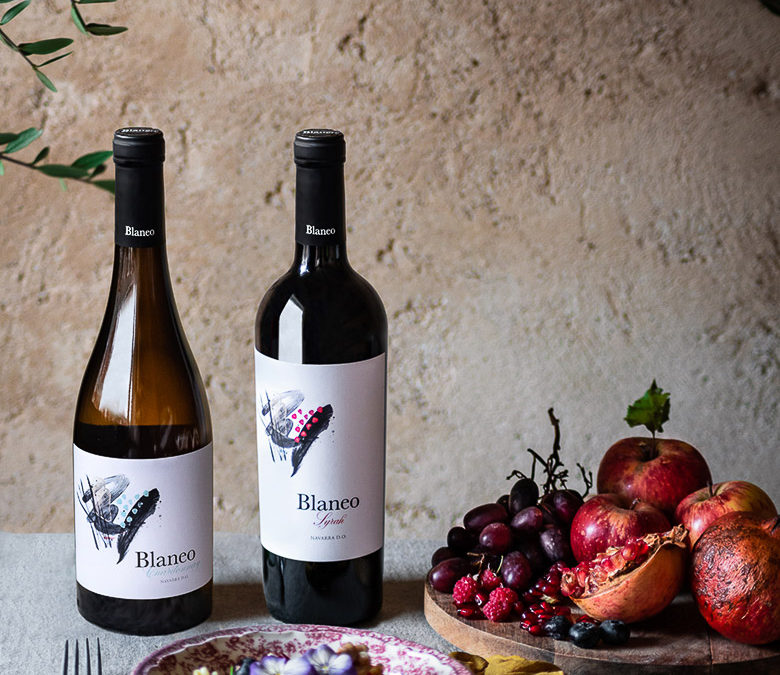 Pagos de Araiz launches a new vintage of its most Premium wine, Blaneo Syrah 2018, with a beautiful new image