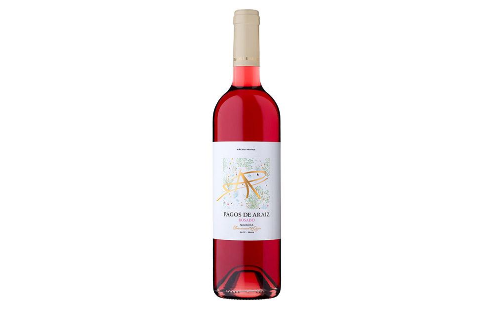 Pagos de Araiz Rosado, the best rosé wine in Navarra